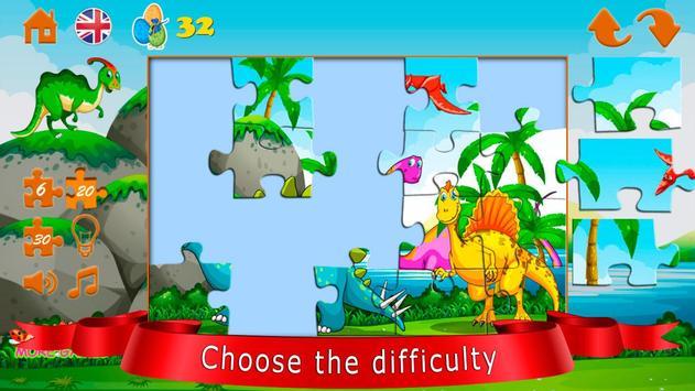 Dinozorlar bulmaca Ekran Görüntüsü 4