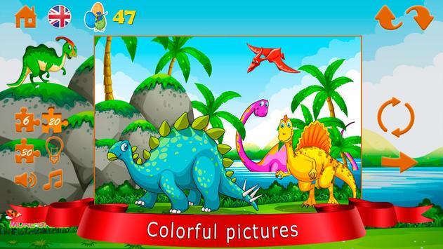 Dinozorlar bulmaca Ekran Görüntüsü 5