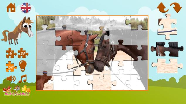 Puzzles about horses screenshot 14