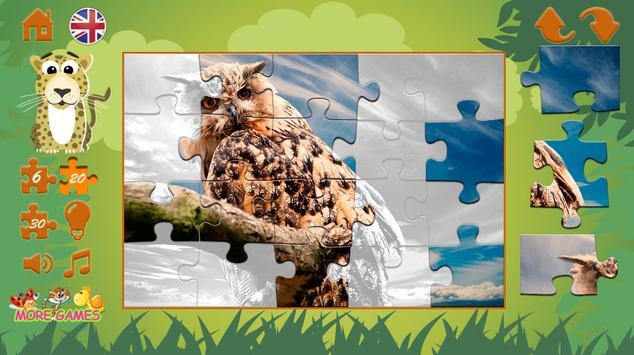 Puzzles: wild animals screenshot 4