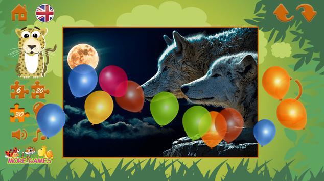 Puzzles: wild animals screenshot 15