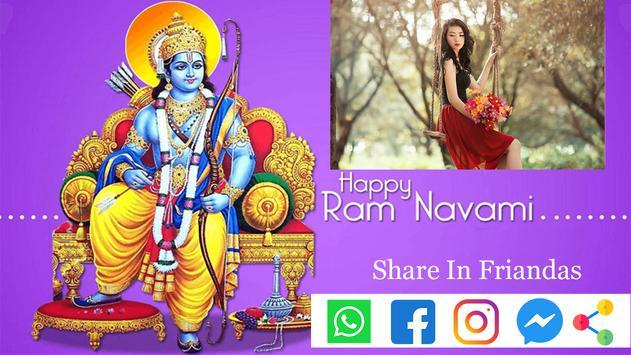 Ramnavmi Latest Photo Frame 2019 screenshot 3