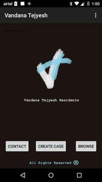 Vandana Tejyesh Residents poster