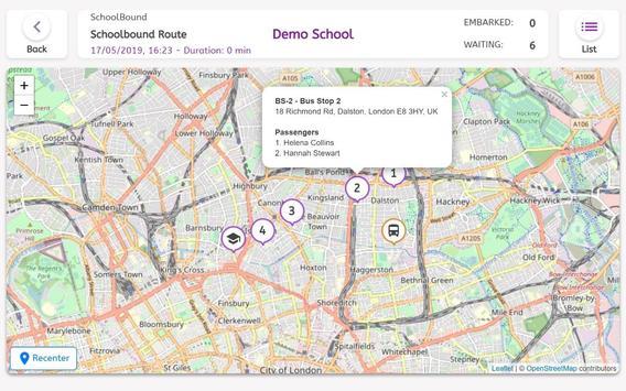 SchoolBusNet Driver screenshot 4