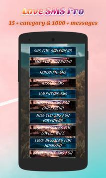 Love Message Pro screenshot 1