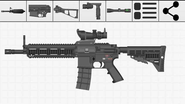 Weapon Builder screenshot 1