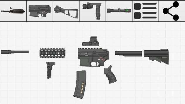 Weapon Builder screenshot 2