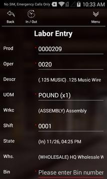 Scanco Acumatica Manufacturing screenshot 1