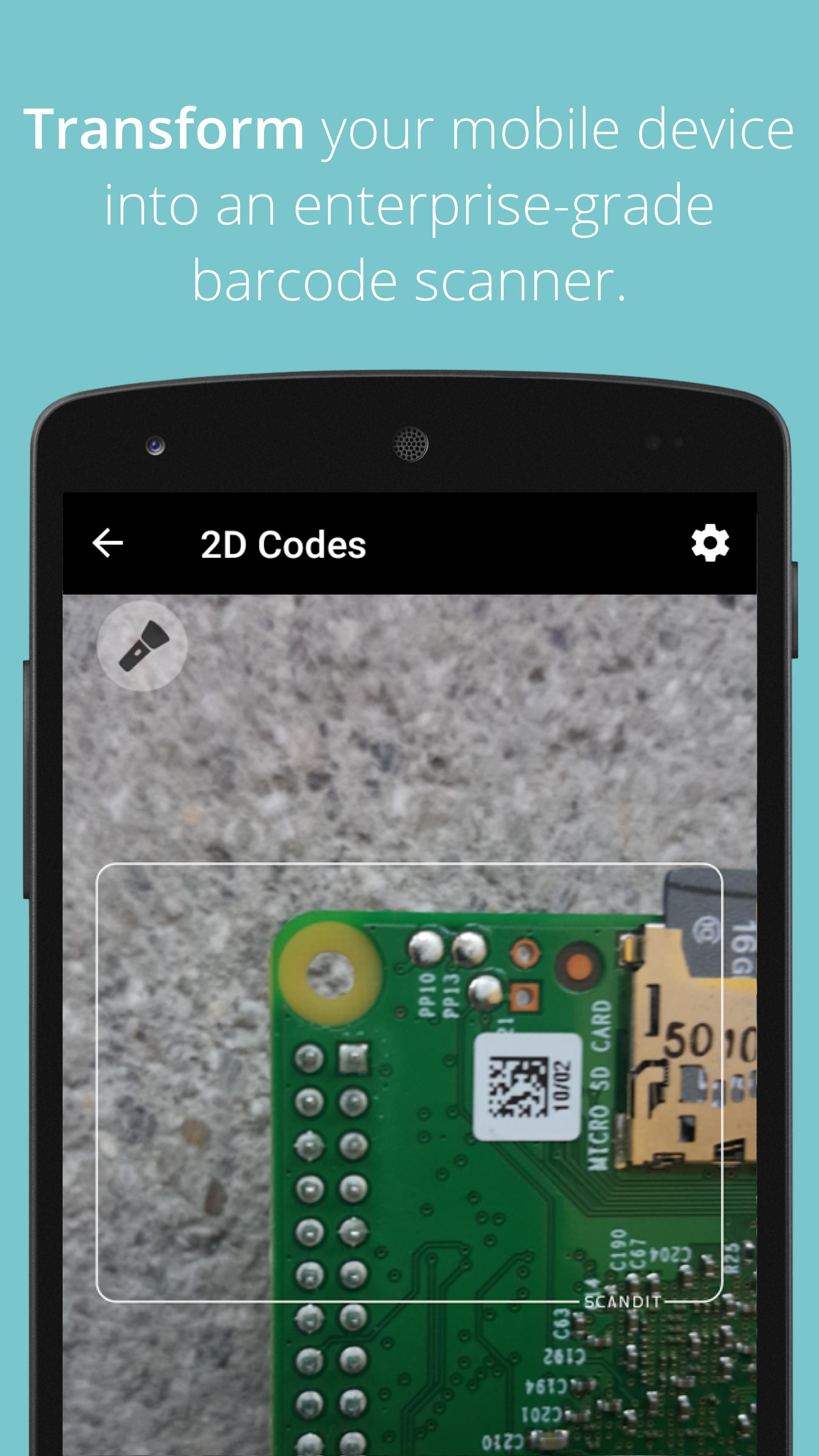 Scandit Barcode Scanner Demo for Android - APK Download