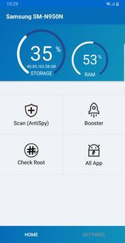 Scan Spy Free 2019 and Booster, Check Root ảnh chụp màn hình 1