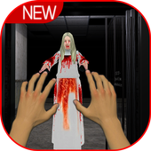 Scary horror granny game icon