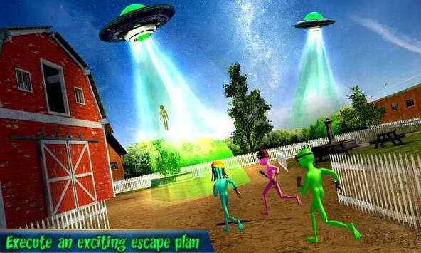 Grandpa Alien Escape Game capture d'écran 1