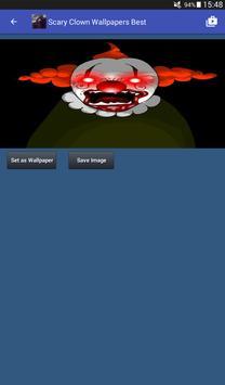 Scary Clown Wallpapers captura de pantalla 15