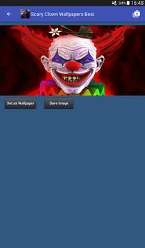 Scary Clown Wallpapers captura de pantalla 16