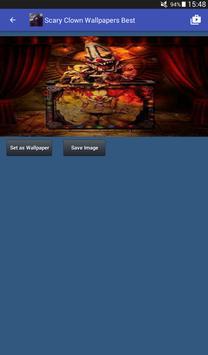 Scary Clown Wallpapers captura de pantalla 17