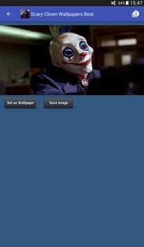 Scary Clown Wallpapers captura de pantalla 11