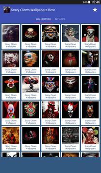 Scary Clown Wallpapers ảnh chụp màn hình 12