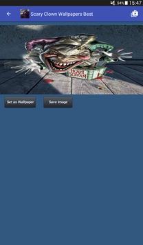 Scary Clown Wallpapers captura de pantalla 13