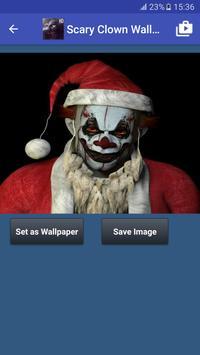Scary Clown Wallpapers captura de pantalla 1