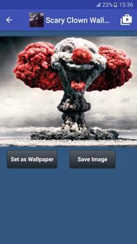 Scary Clown Wallpapers ảnh chụp màn hình 2