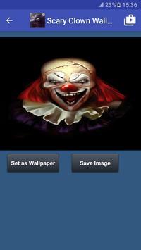 Scary Clown Wallpapers captura de pantalla 4