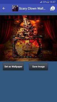 Scary Clown Wallpapers captura de pantalla 5