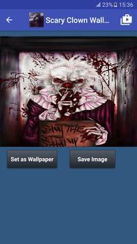 Scary Clown Wallpapers captura de pantalla 6