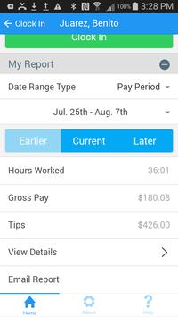 Time Clock Sync - Employee Hour Tracker screenshot 3