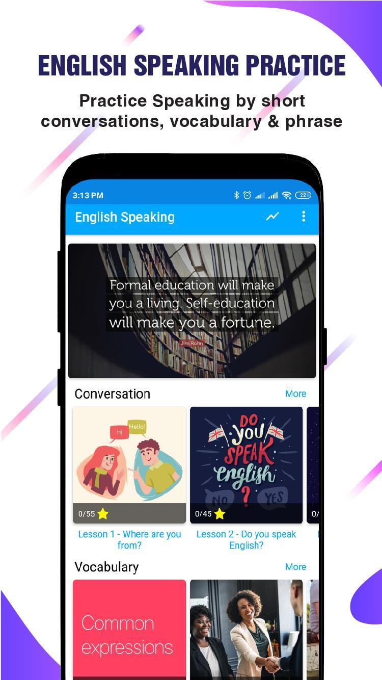 English Speaking Practice & Vocabulary for Android - APK Download