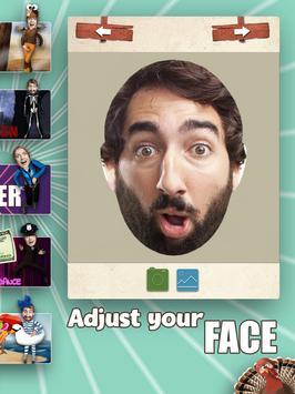 自分のダンス -  3D楽しい顔のビデオを作成します。 スクリーンショット 9