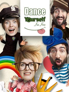 自分のダンス -  3D楽しい顔のビデオを作成します。 スクリーンショット 10