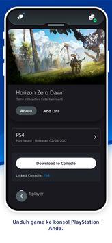 PlayStation App syot layar 4