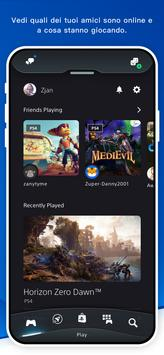 1 Schermata PlayStation App