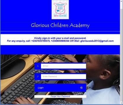 Glorious Children Academy screenshot 1