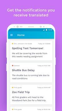 The School App screenshot 1