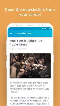 The School App screenshot 2