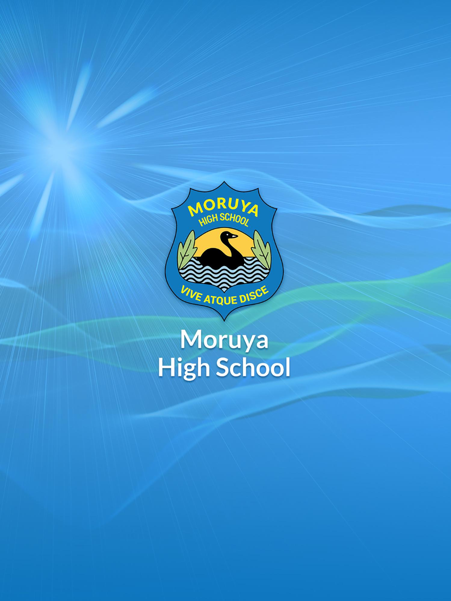 Moruya High School poster