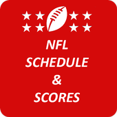 Football NFL Schedule & Scores icon