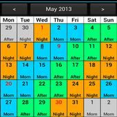 Shift Calendar (Shift Roster) icon