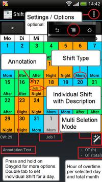 Shift Calendar (Shift Roster) screenshot 5