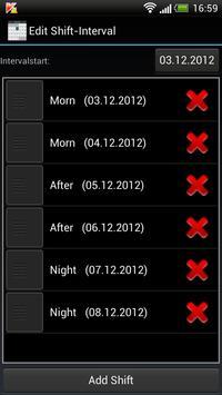 Shift Calendar (Shift Roster) screenshot 3