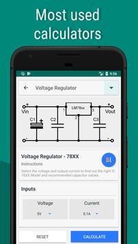 Electronics Engineering Calculators screenshot 3