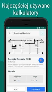 Elektroniczne Kalkulatory Inżynierskie screenshot 3