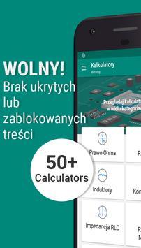 Elektroniczne Kalkulatory Inżynierskie plakat