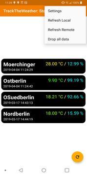 TrackTheWeather screenshot 1