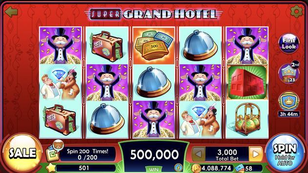 MONOPOLY Slots screenshot 1