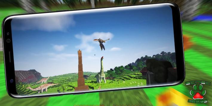 Dinosaurs Mod for Minecraft v2.0 screenshot 1