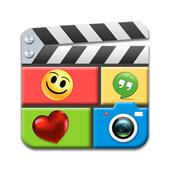 비디오 콜라주 제작 앱 아이콘