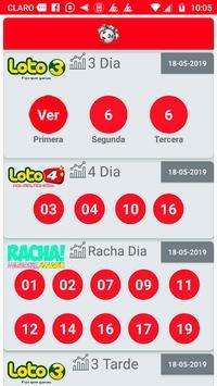 Resultados de Loterías Chile poster