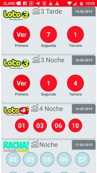 Resultados de Loterías Chile screenshot 1